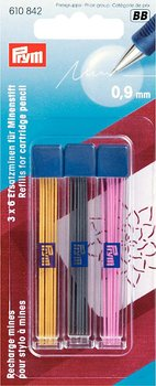 Colored refills 610842 to Cartridge pencil Prym