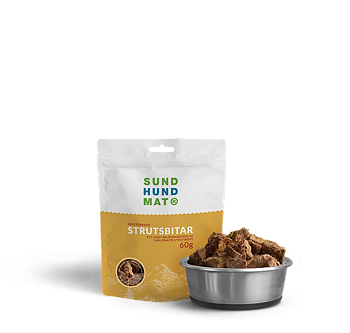 Freeze-dried Ostrich Treats 60 g