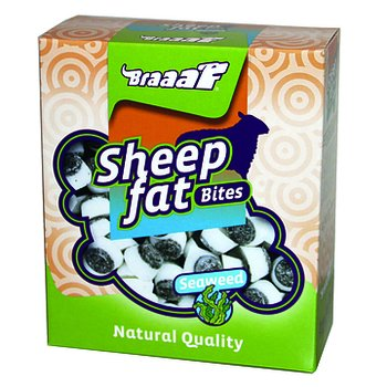 Braaaf Sheep Fat Bites with Seaweed 245 g