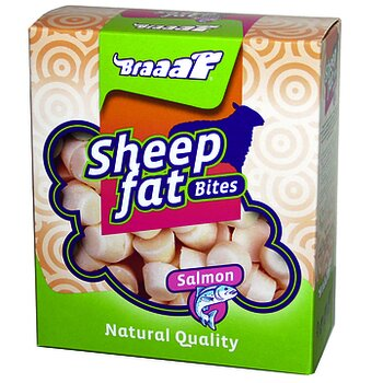 Braaaf Sheep Fat Bites med lax 245 g