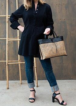 Väska, Ini Bag svart, från Mossa