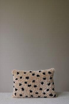 Kudde, Bibi naturbeige 33x50 cm, från Mimou