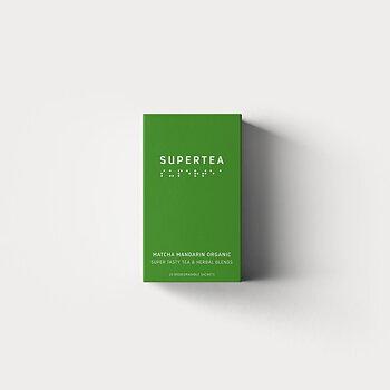 Supertea, Matcha Mandarin Organic, från Teministeriet