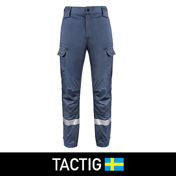 OV Insatsbyxa med stretch, Tactig