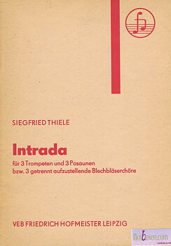 Siegfried Thiele - Intrada