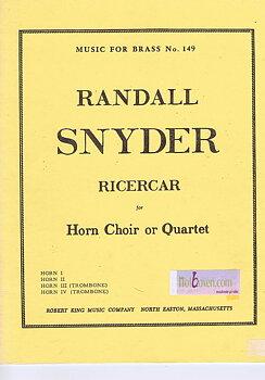 Ricercar av Randall Snyder