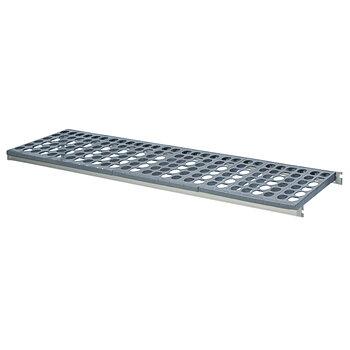Hylla i aluminium, 890x460 mm
