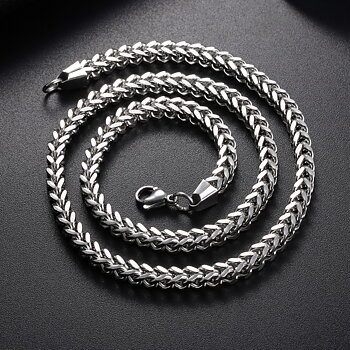 Stainless steel necklace 6mm-600mm