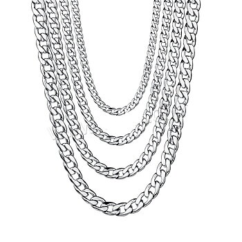 Stainless steel necklace 7mm-500mm