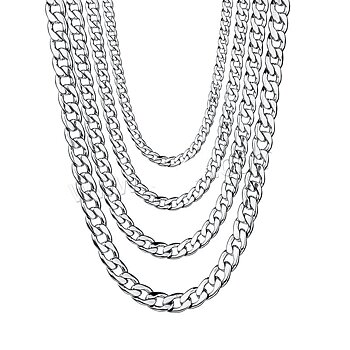 Stainless steel necklace  9mm-500mm