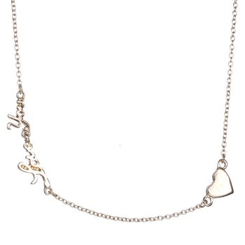 Heart-shaped Pendant Necklace