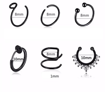 Nose FAKE SEPTUM 6 pcs