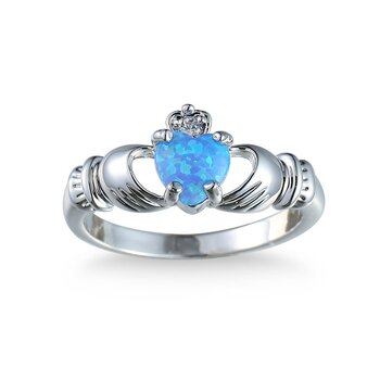 Silver FILLED RING Opal