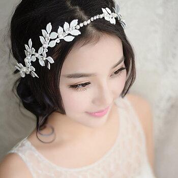 Kvinnor hårband  bröllop diadem