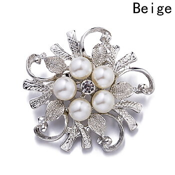 Brooch Crystal  Flower