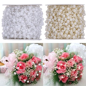 10m artificial pearls chain Wedding decoration hair accessories