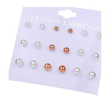 Earrings 9pair/ Set