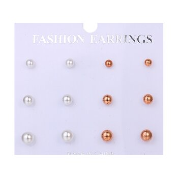 Earrings 6pair/ Set