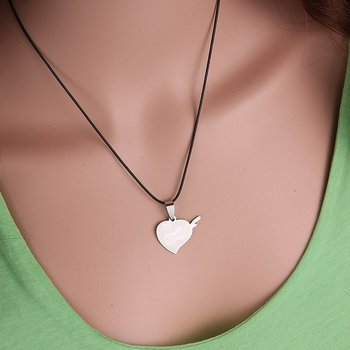 Stainless steel necklace Pendant Set