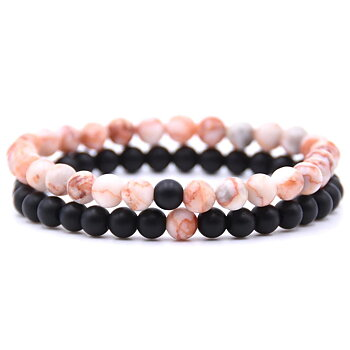 2pc/sets Natural Bracelet Stone