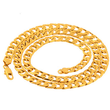 18k gold filled necklace
