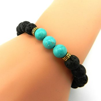 Naturliga stenar armband