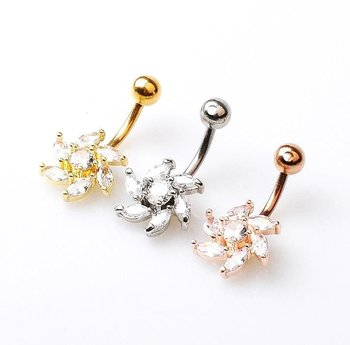 Navel Belly Button Ring Body Piercing