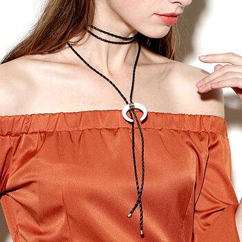Halsband vintage vit elfenben chocker