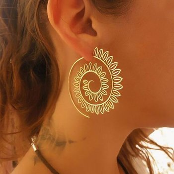 Earrings Spiral