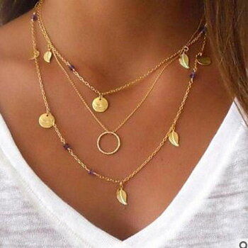 Simple Multilayer Necklace