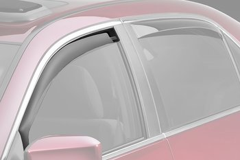 BMW 3 E46 98+  4D+ TOURING CLIMAIR WINDOW VISORS FRONT SET
