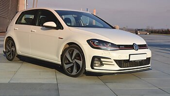 FRONT SPLITTER V.2 VW GOLF VII GTI FACELIFT