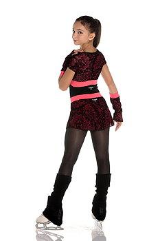 Svart-röd kjol Grace  från Logos
