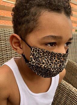 Djurmönstrat munskydd från Mondor