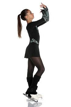 Svart/turkos klänning Grace  från Logos