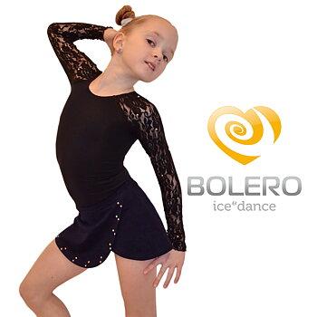Utsvängd kjol med kristaller från Bolero
