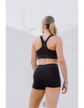 Svarta shorts med kristaller från Axelartistics