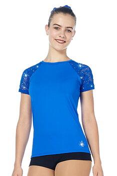 T-shirt från Sagester med spetsärmar