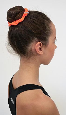 Neonfärgad hårsnodd
