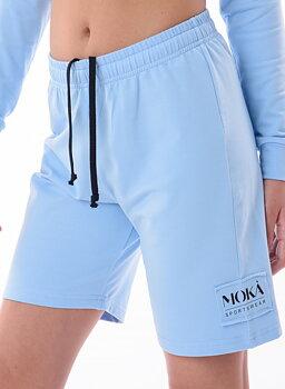 Ljusblå bermudasshorts Nizza från Moka