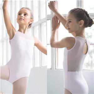 Body i svart eller rosa med mesh detaljer