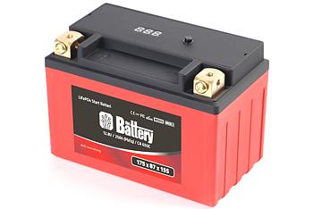 LiFe PO4 BMS Batteri 650ca, 1991- FXD, Softails