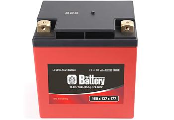 LiFe PO4 BMS Batteri 800ca, 1997- FL