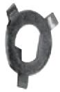 Låsbricka, Kickdrev, Biaxel 1936-79