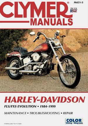 Clymer Repair Manual Fxst 1984-1999