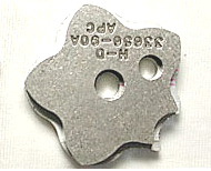 Detent Plate, 5vxl  XL 1991-