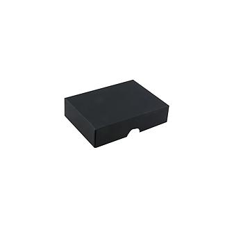 Lock till 6-bitars pralinask, svart struktur