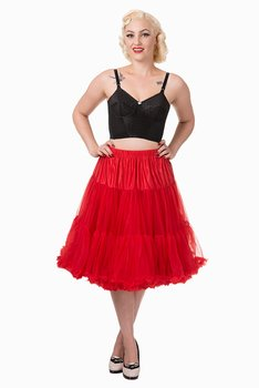 Banned Apparel - Lifeforms Red Petticoat