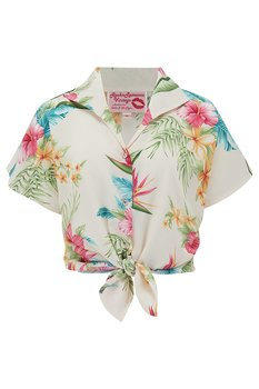 Rock N Romance - Maria Natural Honolulu Blouse