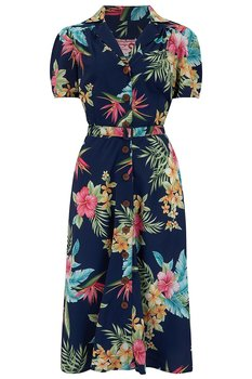 Rock N Romance - Charleen Navy Dress
